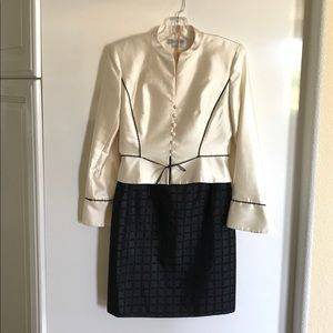 Kay Unger Cocktail Skirt and Blazer